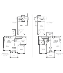 ZEN Ravenswood in Airdrie - Bailey Floorplan