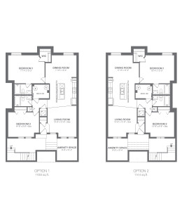 ZEN Ravenswood in Airdrie - Liberty Floorplan